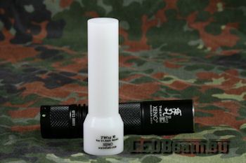 Xeno E03 V3 plus TW15 Flashlight Traffic Wand Diffuser